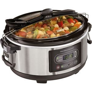 Hamilton Beach Stay or Go 5 Quart Slow Cooker